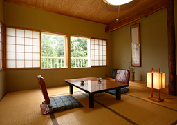Park Lodge Sekine is a traditional style Ikenotaira Onsen accommodation located in an historic brewery building