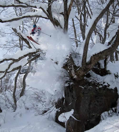 akakura onsen ski resort, myoko kogen