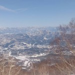 Magnificient views from the Myoko backcountry