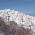 Magnificent views from the Myoko backcountry