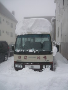 Akakura snowfall - First Myoko snow