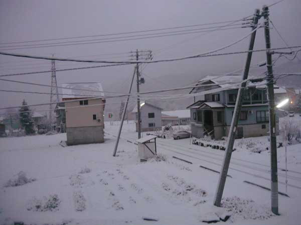 Myoko early season snow