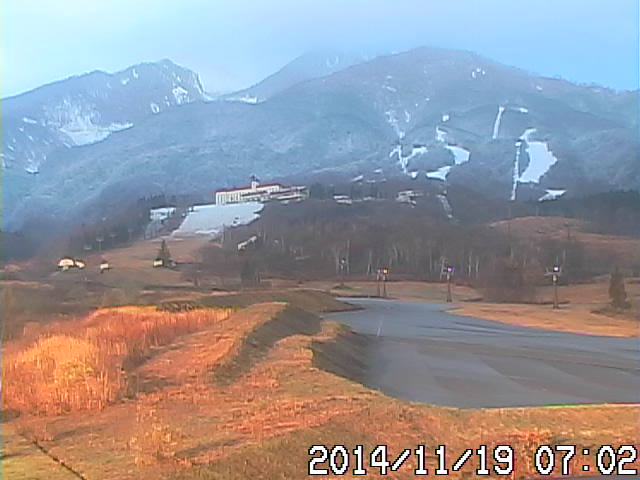 Myoko Snow Report 24th November 2014