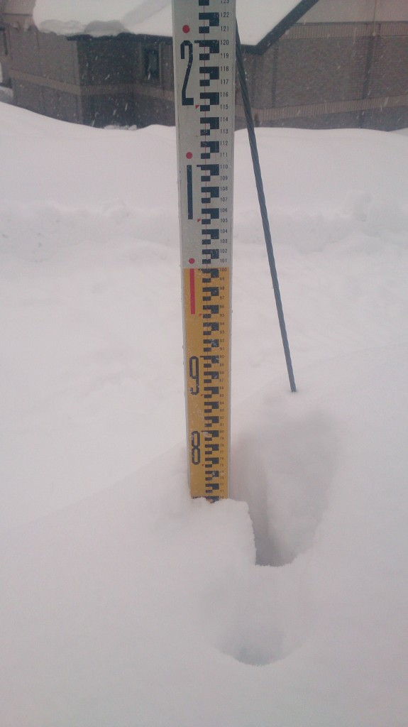 Myoko Snow Report 13 Dec 2014