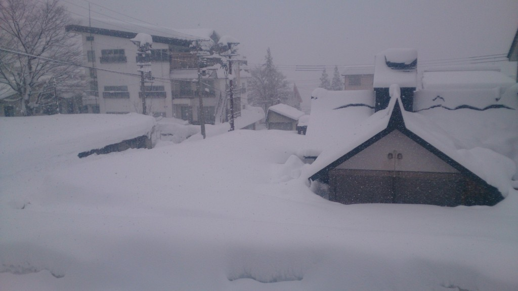 Myoko Snow Report 17 December 2014