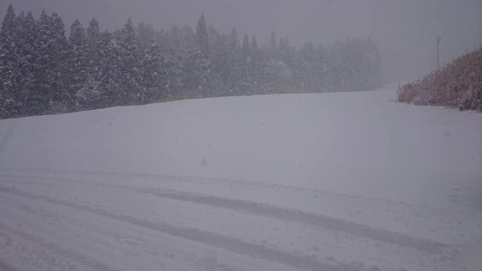 Myoko Snow Report 4 December 2015