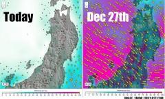 Myoko Snow report 22 December 2015: Warm before the Storm
