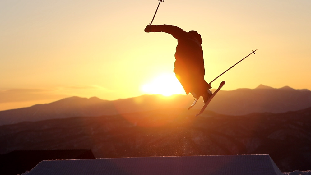 Sunrise this morning at the Kanko Terrain Park