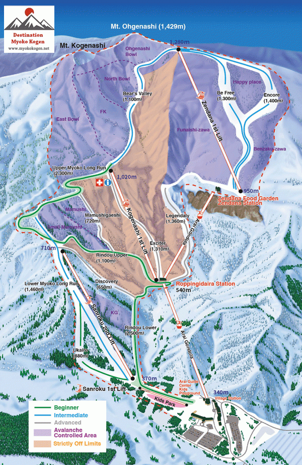 Lotte World Map Pdf. Lotte Arai Resort trail and piste map  click for larger size Ski is opening in December 2017 with 5 ski lifts