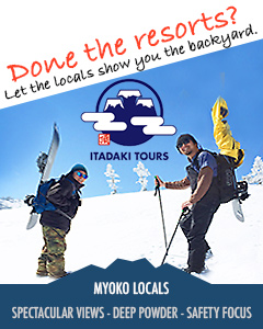 Myoko backcountry Myoko ski guide