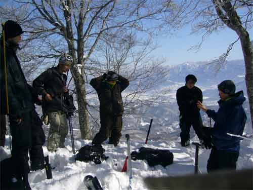 Japan Back Country Skiing in Madarao Kogen